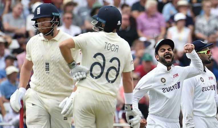 Sir Andrew Strauss dejected as Englands batting falters against India at Trent Bridge