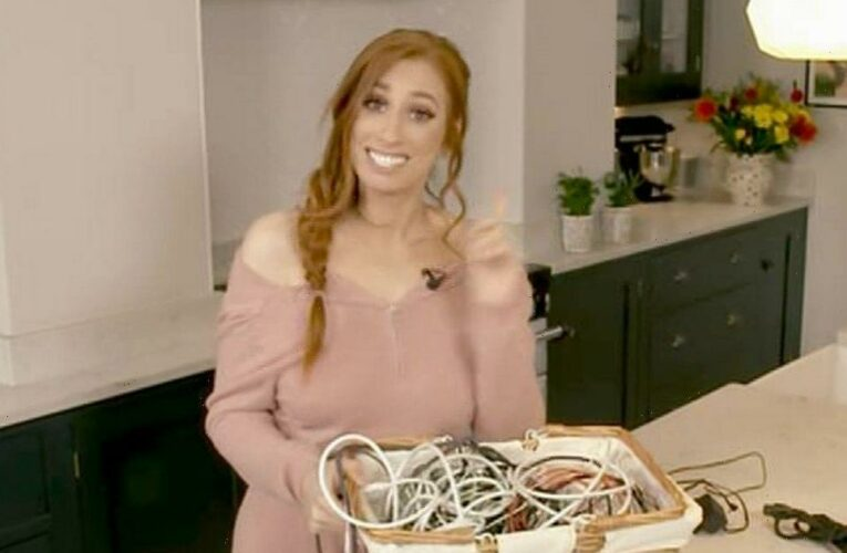 Stacey Solomon leaves Lorraine fans divided as she shares tidying hacks on air