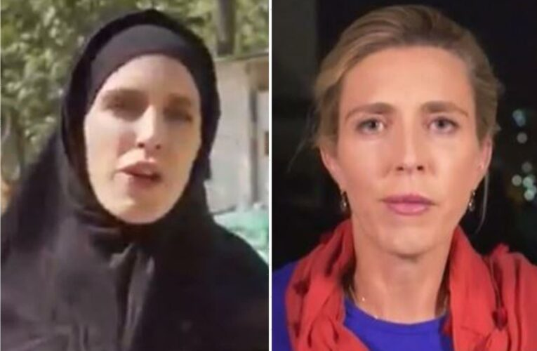 TV reporter's wardrobe change within 24 HOURS shows brutal life under Taliban rule as she fears for her life