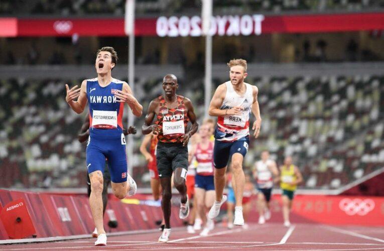 Tokyo Olympics: Jakob Ingebrigtsen delivers family gold in 1500m as Britain's Josh Kerr takes bronze