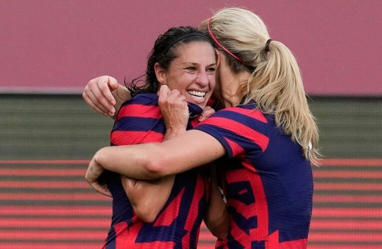US women's soccer team wraps up Tokyo Olympics with bronze medal