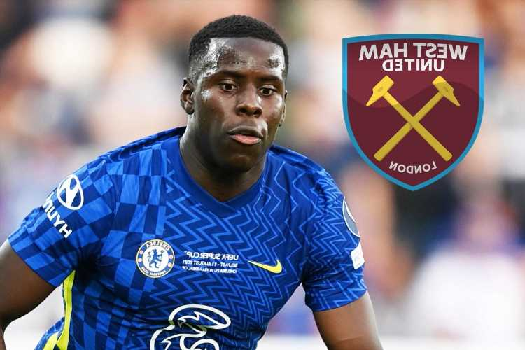 West Ham will sign Kurt Zouma in £26m transfer with Chelsea defender having medical in Paris today