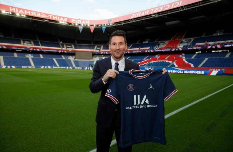 When will Lionel Messi make his debut for PSG, and how can I watch on TV or live stream?
