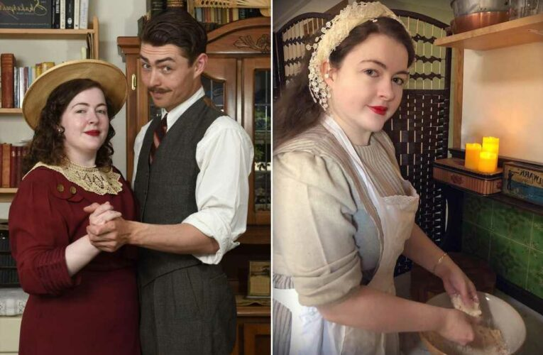 Young couple prefers to live in the past — with a 1930s lifestyle
