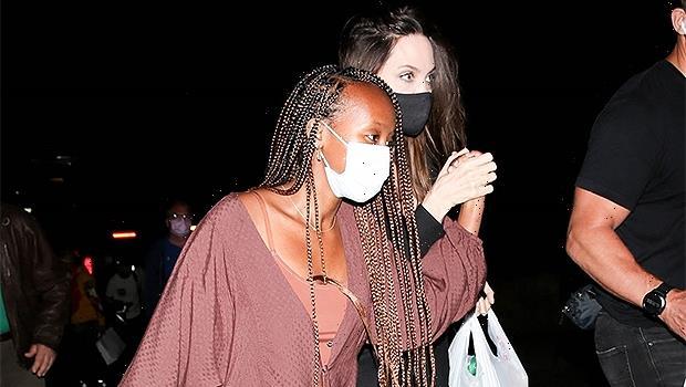 Zahara Jolie-Pitt, 16, Rocks Long Braids At Concert With Mom Angelina Jolie  Photos