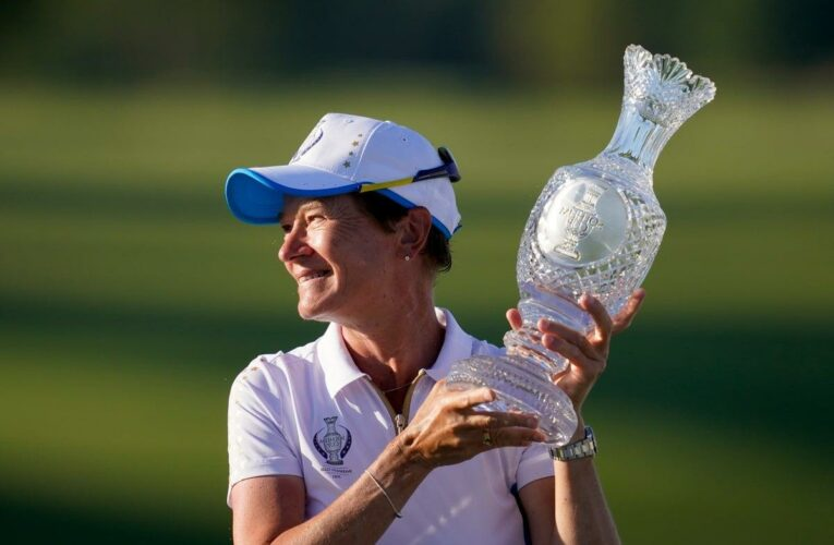 'It's someone else's turn': Catriona Matthew rules out staying on as Europe's Solheim Cup captain
