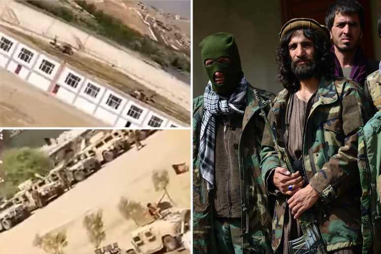 'Lions of Panjshir' kill 'dozens of Taliban & stockpile stadium full of weapons' as terror group launches final assault