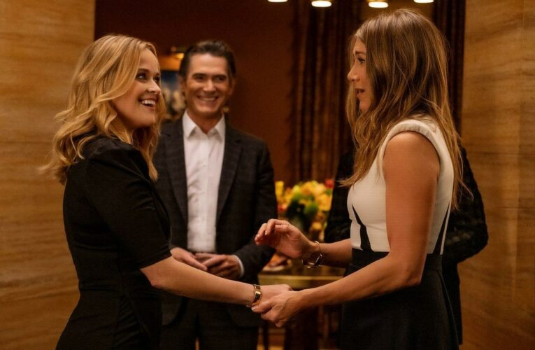 'The Morning Show': Jennifer Aniston's iPhone Dump of Behind-the-Scenes Photos and Video