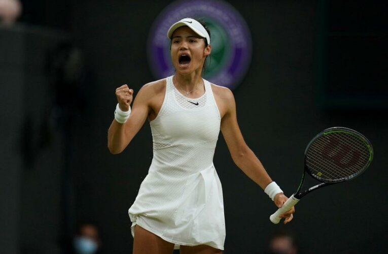 A closer look at 'special' rising tennis star Emma Raducanu