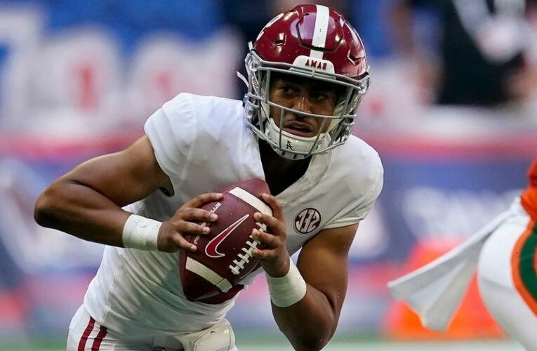 Alabama's Bryce Young tosses 4 TDs in route of Miami, breaks record set by former greats