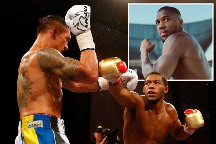 Anthony Joshua warned by Michael Hunter that Oleksandr Usyk's style is 'the most difficult' and winning is 'hard task'
