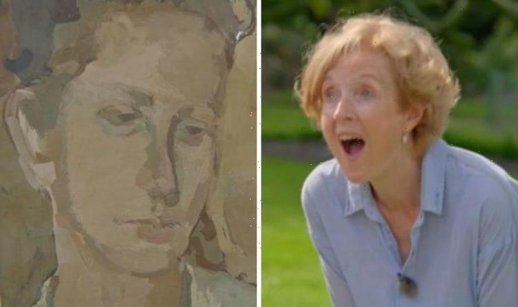 Antiques Roadshow guest gasps at real value of artwork she spent last £100 on