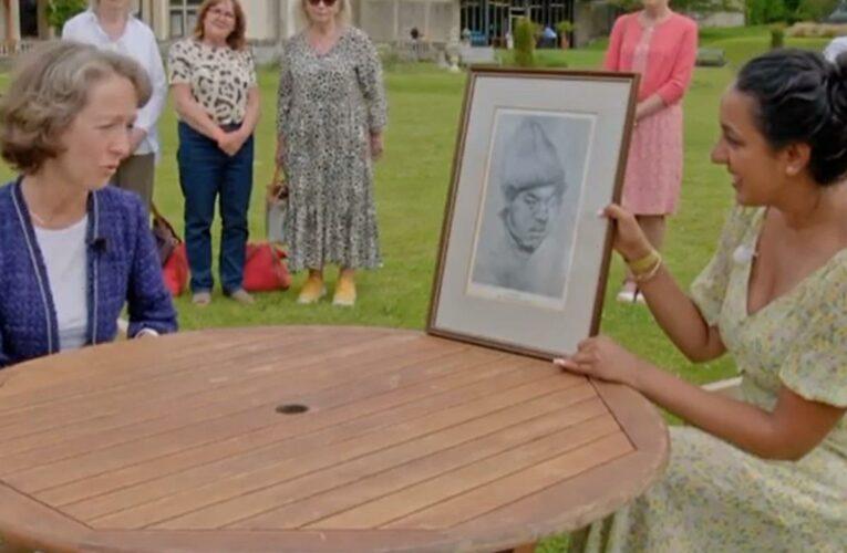 Antiques Roadshow guest horrified as portrait's hidden twist is revealed by expert