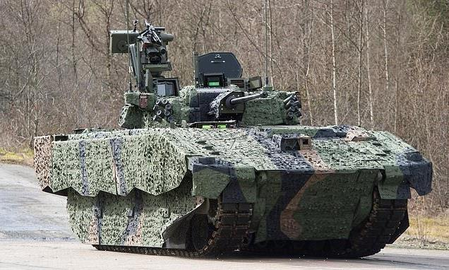 Armoured vehicle that left 310 soldiers injured faces axe1350945