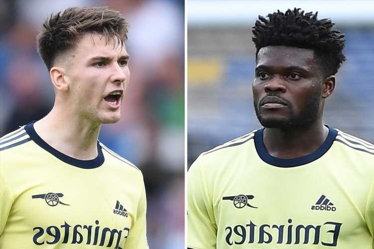 Arsenal injury 'curse' strikes again as Kieran Tierney and Thomas Partey pick up problems during Burnley win