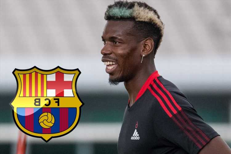 Barcelona hope to land Man Utd ace Paul Pogba on free transfer in summer but face competition from three European giants