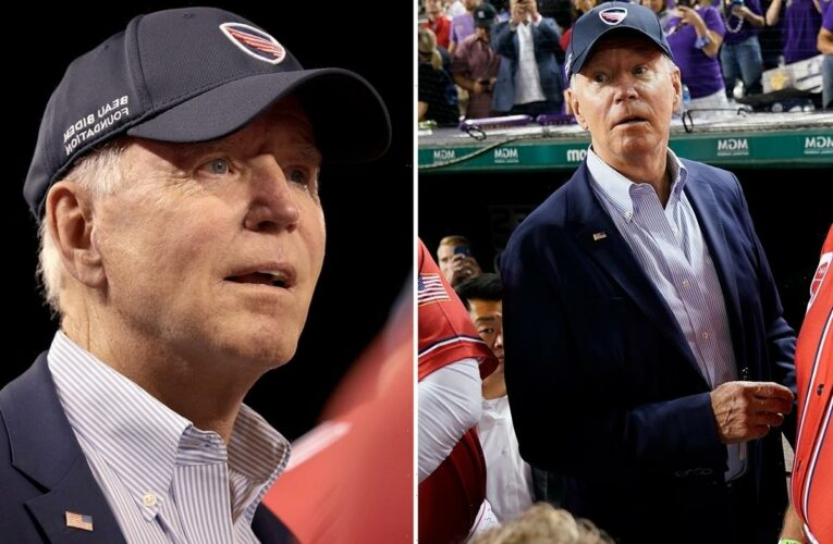 Biden is BOOED at Congressional Baseball Game as fellow Dems threaten to scuttle $4.7 trillion spending plan