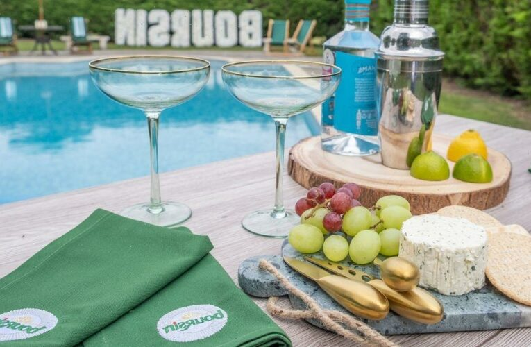 Boursin launches staycation house with gin palace and stocked cheese fridge