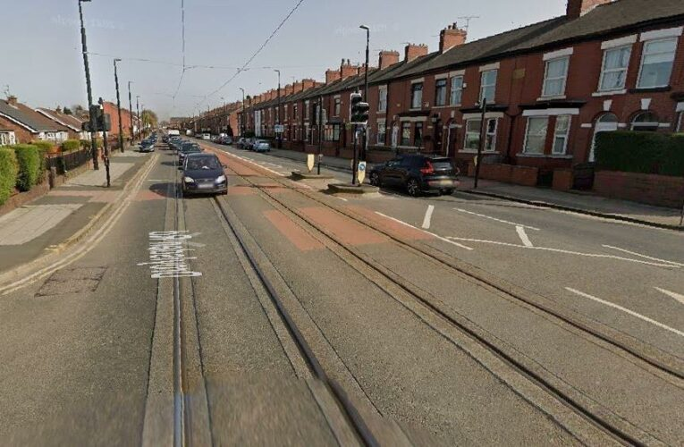 Boy, 10, fighting for life after being hit by a tram while he cycled as cops appeal for witnesses