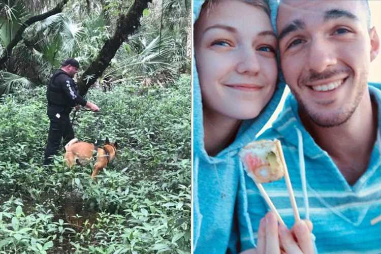 Brian Laundrie update – North port cops call off search for 'hiding' fiance after blasting 'fake' news body found