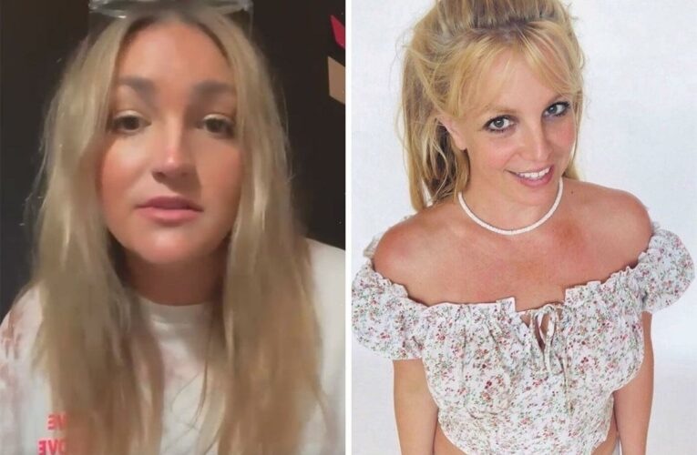 Britney Spears fans think she rips sister Jamie Lynn with cryptic post after dad Jamie is suspended from conservatorship