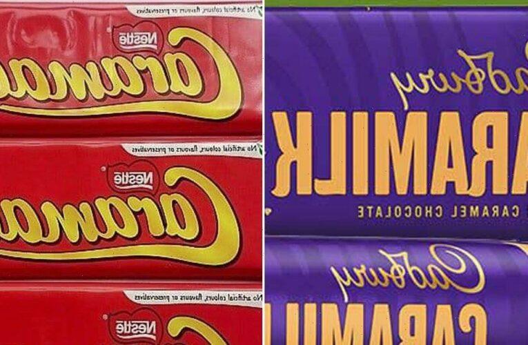 Brits in fierce online Caramac debate after Cadbury launches Caramilk bar