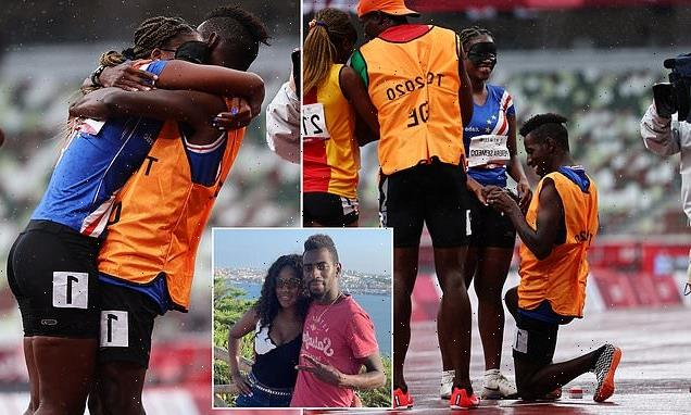 Cape Verde para-athlete gets engaged to her guide on the TRACK