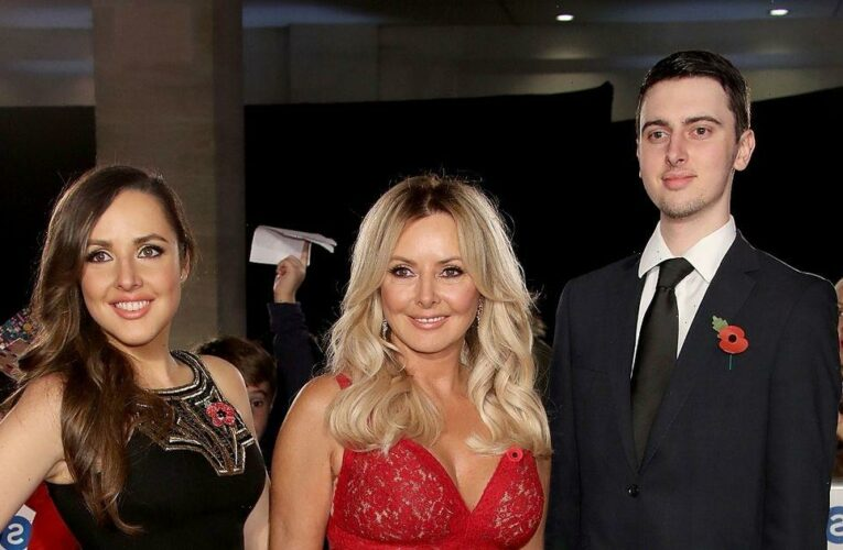 Carol Vorderman emotional as she shares son's severe learning difficulties