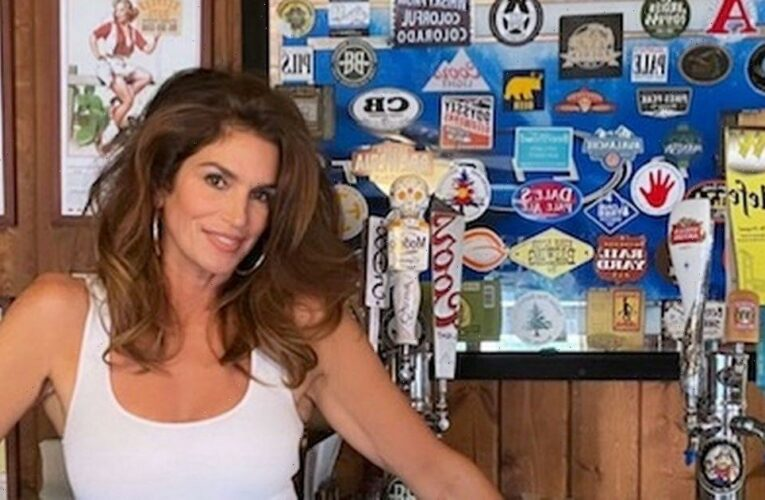 Cindy Crawford, 55, sends fans wild as she recreates Pepsi ad in hot pants