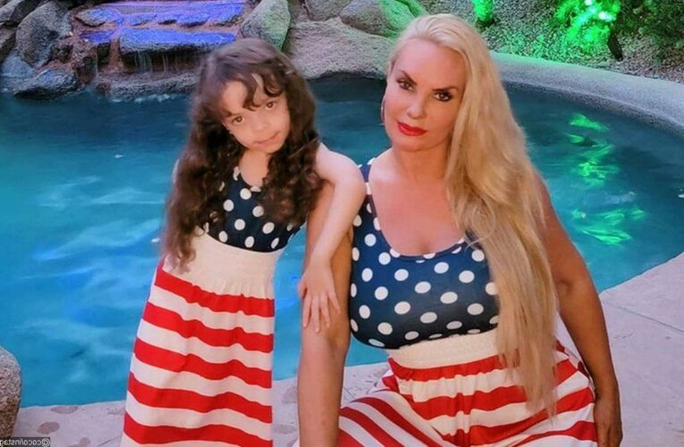 Coco Austin Slammed After Showing Off 5-Year-Old Daughters French Manicure for School Photo