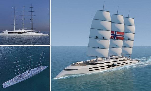 Concept for a VIKING-themed solar powered superyacht is unveiled