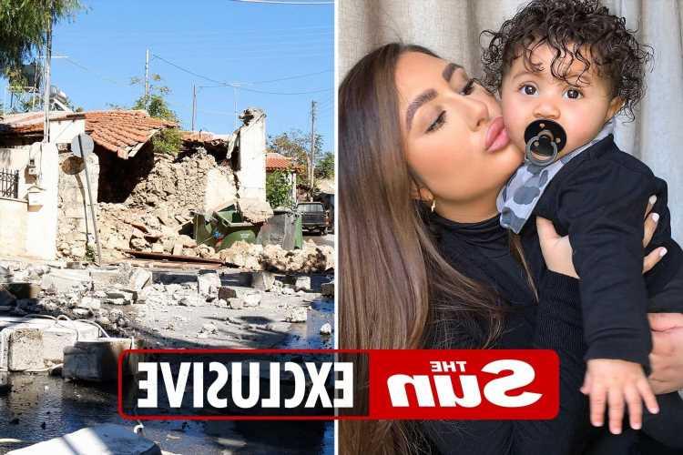 Crete earthquake – Terrified Brit mum flees hotel with baby daughter as quake rocks Greek island