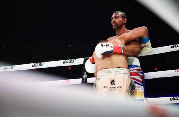 David Haye, 40, wins comeback fight and calls out 'big fat dosser' Tyson Fury and says he is Gypsy King's 'kryptonite'