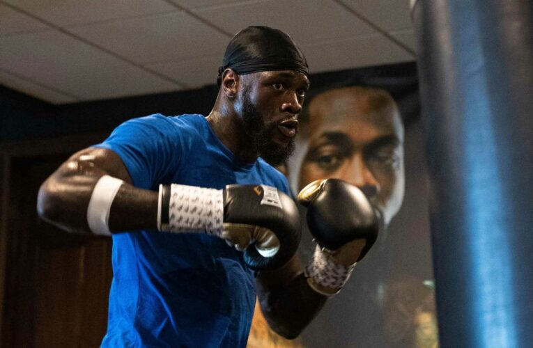 Deontay Wilder sends chilling sparring warning to daughters' future boyfriends to 'prove' they can keep his kids safe
