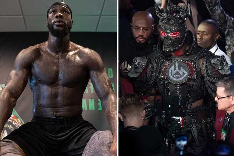 Deontay Wilder to wear 'something special' for ring-walk vs Tyson Fury despite blaming £31k outfit for loss last year