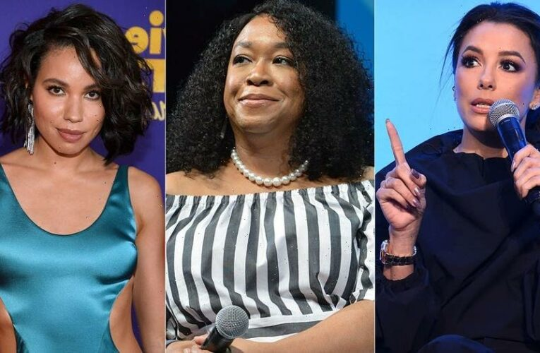 Eva Longoria, Shonda Rhimes and Jurnee Smollett step down from Time's Up board: 'Ready for new leadership'