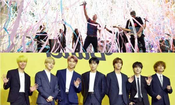 Fans Can Get a Sneak Peek of the Lyrics for Coldplay and BTS' Single 'My Universe'