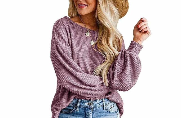 Find Out Why Shoppers Are Calling This Waffle Knit Top a 'Must-Have'