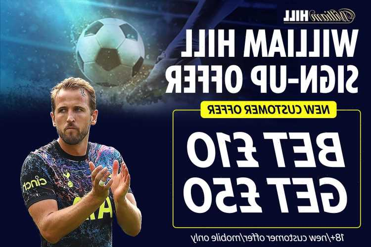 Free bet sign-up offer from William Hill: Get £50 in FREE bets when you sign up and place £10 wager