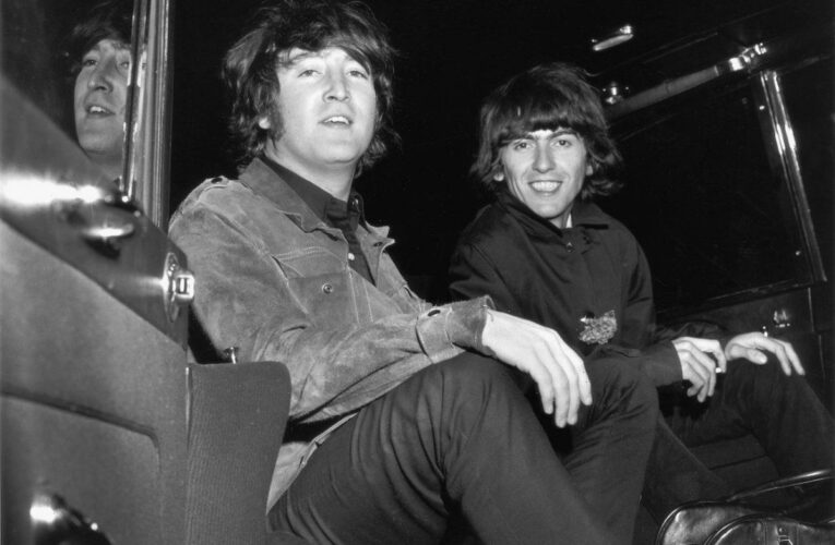 George Harrison Wrote a Tribute Song to John Lennon After He Died