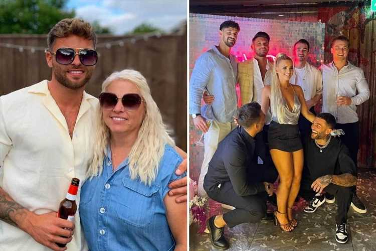 How Love Island's Jake and Liberty living VERY different lives as she joins London's showbiz circuit while he heads home