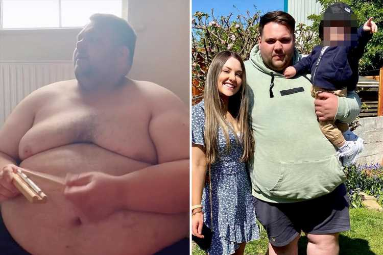 I love my chubby bloke – but trolls accuse him of controlling me and claim our relationship is a 'publicity stunt'