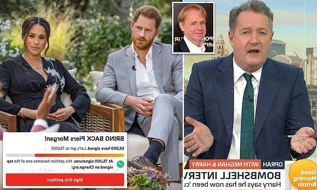 ITV director 'is fighting to REHIRE Piers Morgan'