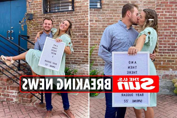 Jed Duggar and wife Katey Nakatsu reveal she's pregnant with their first child just four months after wedding
