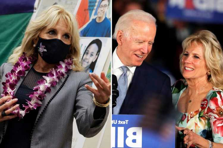 Jill Biden insists she's NOT first lady – but a teacher first – as she heads back to in-person teaching in Virginia