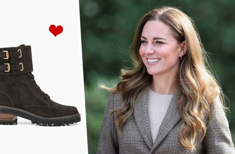 Kate Middleton's hiking boots are perfect for the new season