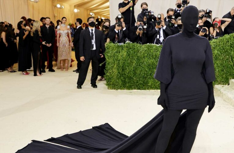 Kim Kardashian Wore a 'Donda'—Inspired Look to the Met Gala but No One Was Shook by It