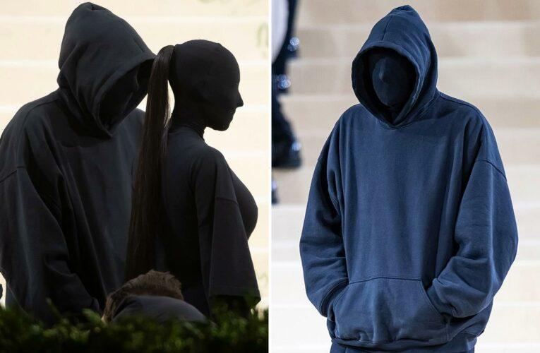 Kim Kardashian's real Met Gala date revealed after fans think masked man is her ex-husband Kanye West