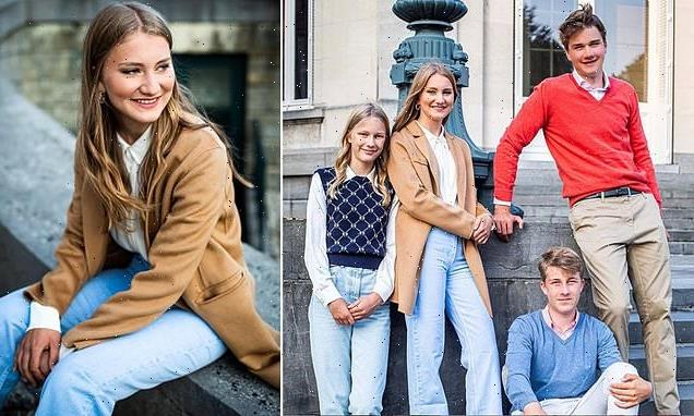 King Philippe and Queen Mathilde of Belgium share photo of children