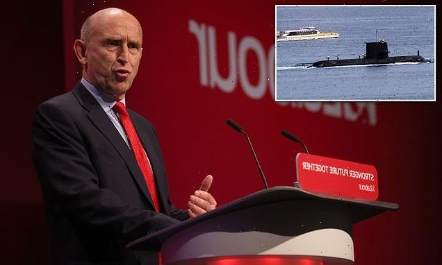 Labour members vote to condemn the AUKUS defence pact